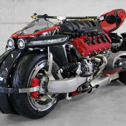 Éppen ez hiányzott: Maserati blokkos motor