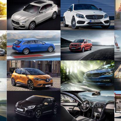Csillaghullás – óriásgalérián a 2016-os Genfi Autószalon sztárjai