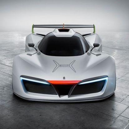 Pininfarina H2 Speed – a hidrogénhajtású versenyautó