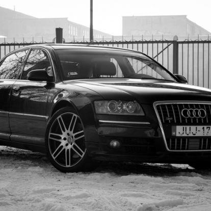 """""""Gyurcsány A8-asa"""", rengeteg idézőjellel - Használtteszt: Audi A8 L 4,2 V8 Quattro – 2005."""