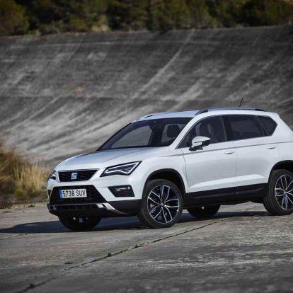 Genfi Autószalon 2016: SEAT Ateca, a kompakt SUV