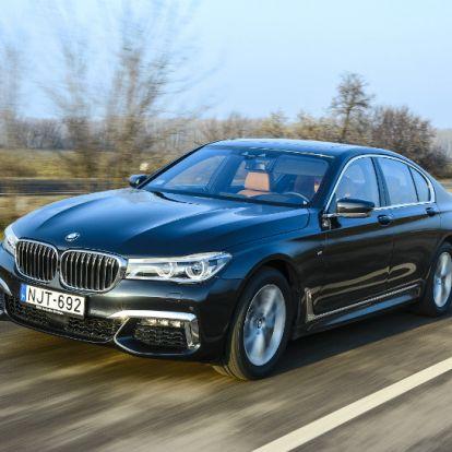 Szolgáltatóközpont – BMW 730d xDrive teszt