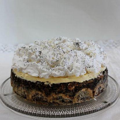 Mennyei mákos guba torta