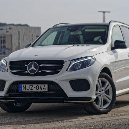 Nagyban játszik – Mercedes GLE 400 4MATIC (2016) teszt
