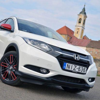 Divat szorozva praktikummal - Honda HR-V 1.6 i-DTEC teszt