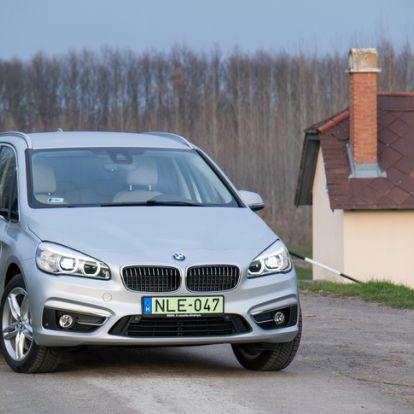 Valamit rosszul csinálok? - BMW 225xe Active Tourer – 2016.