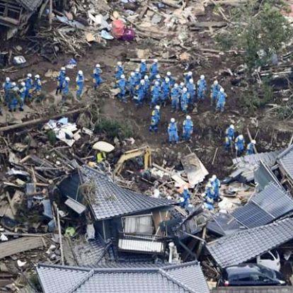 Három nap leforgása alatt közel négyszáz földrengés történt Japánban