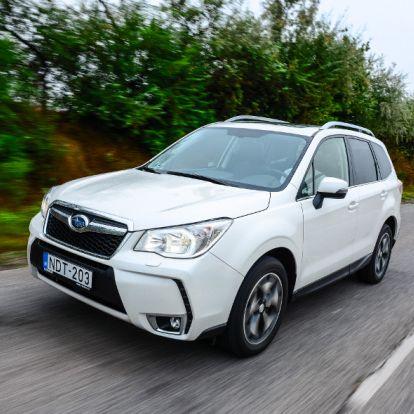 Kényelempárti – Subaru Forester 2.0D Lineartronic teszt