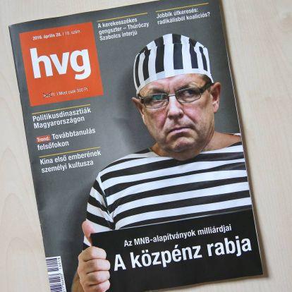 Rabruhás Matolcsyt tett a címlapjára a HVG