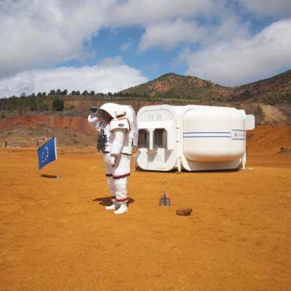 Marsbéli tájon készülnek a vörös bolygó meghódítására Spanyolországban