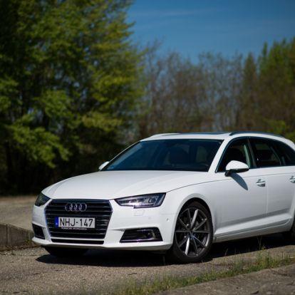 Kell hozzá egy beosztás - Audi A4 Avant 2,0 TDI – 2016.