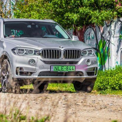 Nem csak a spórolásról szól - BMW X5 xDrive40e teszt