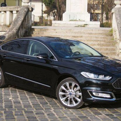 Fél lábbal a luxusautók között – Ford Mondeo Vignale 2.0 EcoBoost teszt