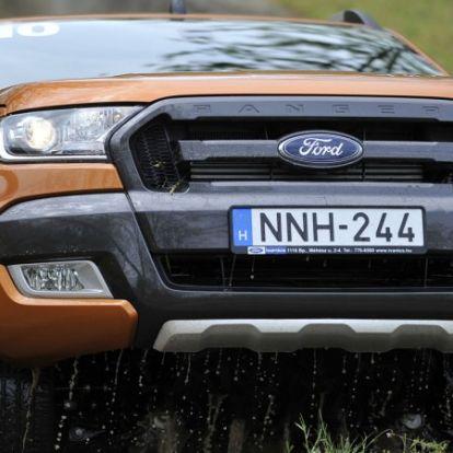 Hétpróba – Hazai terepen próbáltuk a frissített Ford Rangert