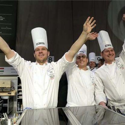Széll Tamás és csapata nyerte meg a világ legrangosabb szakácsversenyének kontinensdöntőjét