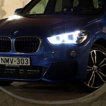 Jó pont, hogy pont jó - BMW X1 xDrive20i (2016) teszt
