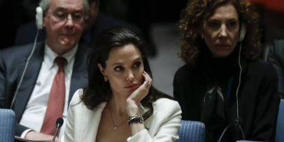 Angelina Jolie a migránsokért aggódik