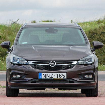 Az igazság bajnoka - Opel Astra 1.4 T Sports Tourer – 2016.