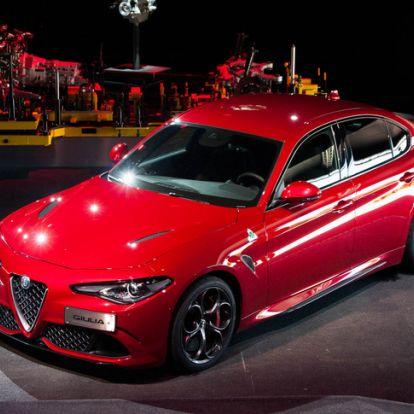 Fel! Támadás! - Bemutató: Alfa Romeo Giulia – 2016.
