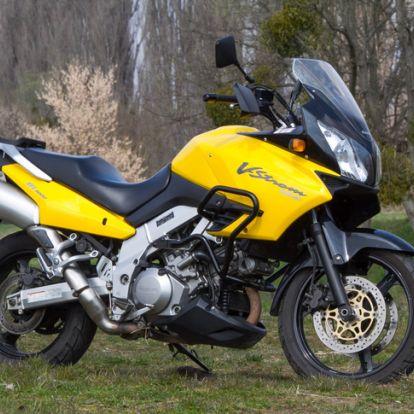 Tulok módjára, erőből - Használt: Suzuki DL1000 V-Strom – 2002.
