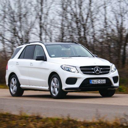 Emeli a tétet – Mercedes GLE 400 4Matic teszt
