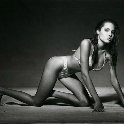 Igéző képek a 15 éves Angelina Jolie első fotózásáról