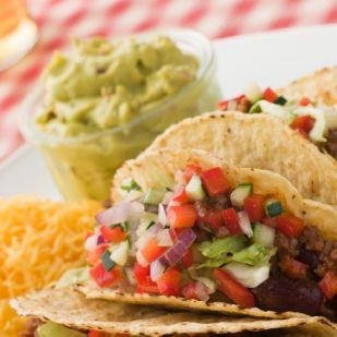 Taco guacamoléval