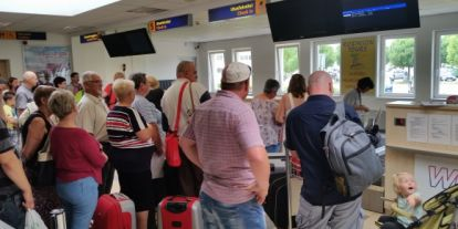 Elindult a jubileumi Debrecen-Burgasz járat