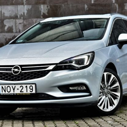 Odapakol - Opel Astra Sports Tourer 1.6 BiTurbo CDTi (2016) teszt
