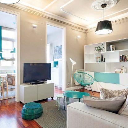 Türkiz lakás Barcelonában