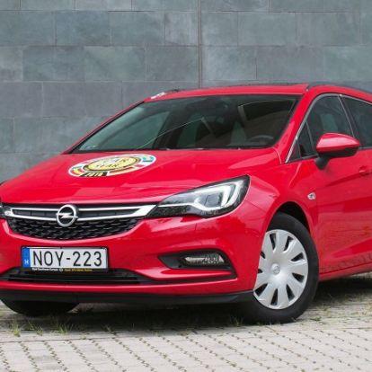 Tökéletes (meglepetés)autó – Opel Astra ST 1.6 Turbo teszt