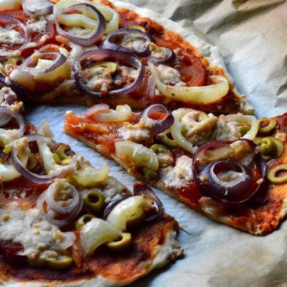 Vegán pizza