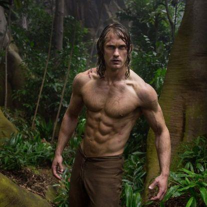 Napi 7000 kalóriával kísérte edzésprogramját az új Tarzan