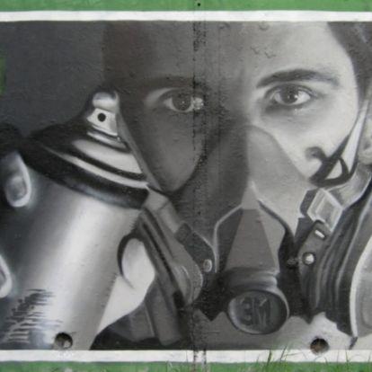 Ő a pesti graffitikirály