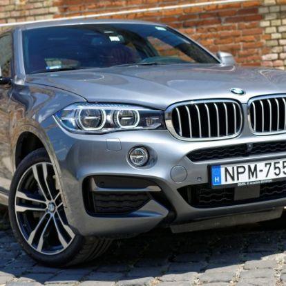 Ellentmondás – BMW X6 M50d (2016) teszt