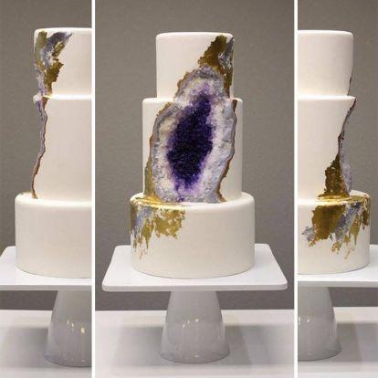 Az egész internet megőrül ezekért az esküvői tortákért – fotók