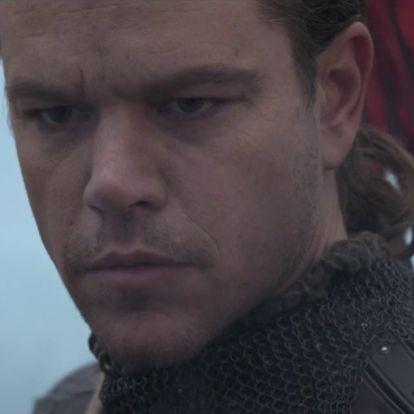 Szörnyvadász lesz Kínában Matt Damon