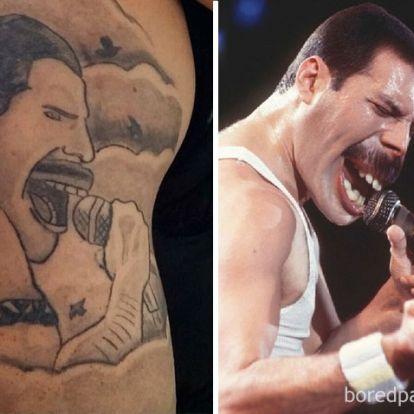 Hihetetlenül vicces, ahogy borzalmas tetoválásokat helyeznek a valóságba