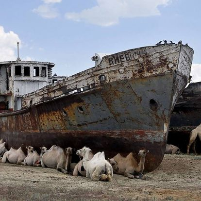 Tibet tóvidékké válik, az Aral-tó eltűnik