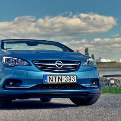 Szerelemre hangolva – Opel Cascada 1.6 Turbo Aut. (2016) teszt