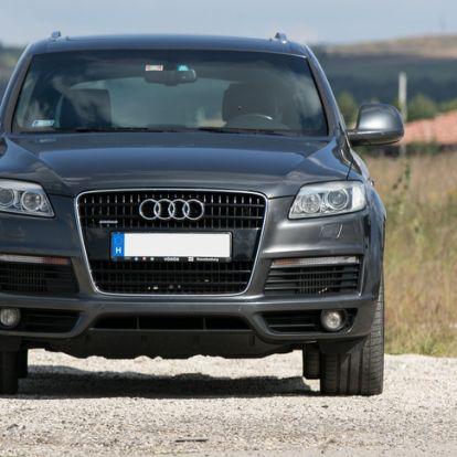 Vigyázz, megjött a góré - Használtteszt: Audi Q7 3.0 TDI quattro – 2008.