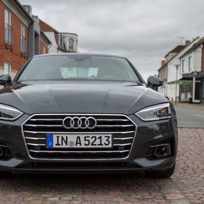 Téged vár az Autobahn - Bemutató: Audi A5 Coupé 2.0 TDI 190 LE – 2016.