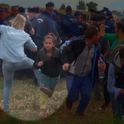 Díjat kapott a menekültrugdosó László Petra a Lakiteleki Filmszemlén