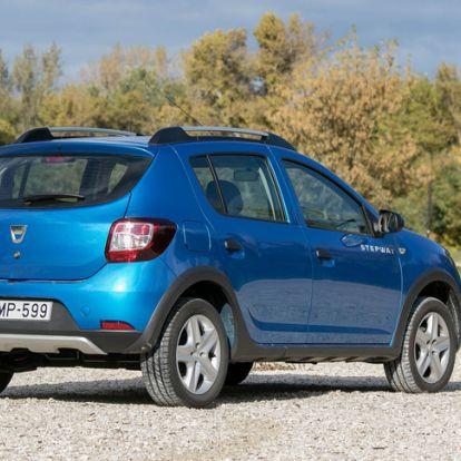 Hülye, aki nem ezt vesz? - Dacia Sandero Stepway 1.5 dci – 2016.