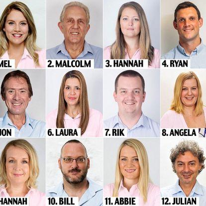 Kiszúrod arcról, hogy ki az ebből a tizenkét emberből, aki megcsalja a párját?