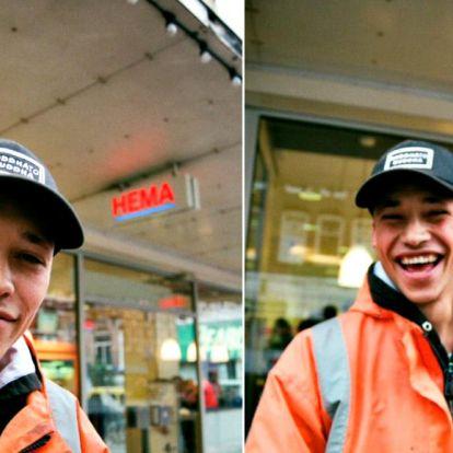 Fenekestül forgatta fel néhány fotó, egy cuki építőmunkás életét