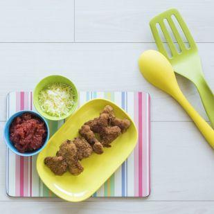 """""""Imádták, hogy segédkezhettek a főzésben"""" - Rántott zöldséges falatok, ennivaló formában: készítsd el őket a gyerkőcökkel együtt!"""