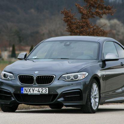 Az utolsó BMW autóbuziknak - BMW M240i xDrive Coupe – 2017.