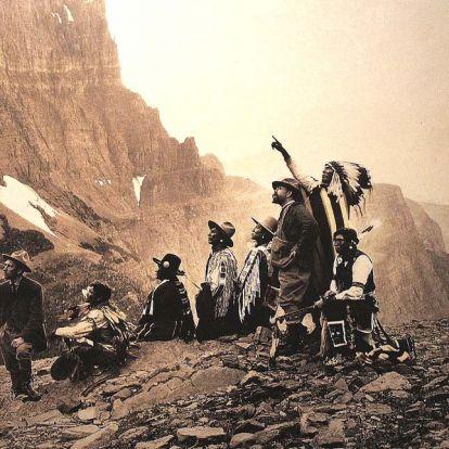 Csodálatos fotók engednek betekintést az amerikai őslakosok életébe – indiánok a múlt század elején