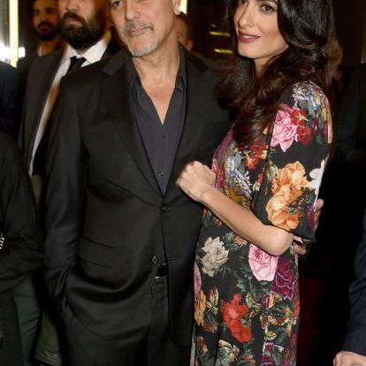 Nyilvánosság elé lépett Amal Clooney - kiderült az igazság állítólagos terhességéről
